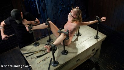 Photo number 8 from The Destruction of Ashley Lane shot for Device Bondage on Kink.com. Featuring Ashley Lane and The Pope in hardcore BDSM & Fetish porn.