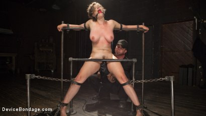 Photo number 12 from Suffering for Herself shot for Device Bondage on Kink.com. Featuring Iona Grace and The Pope in hardcore BDSM & Fetish porn.