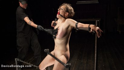 Photo number 13 from Suffering for Herself shot for Device Bondage on Kink.com. Featuring Iona Grace and The Pope in hardcore BDSM & Fetish porn.