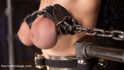 Photo number 14 from S'il Te Plait, Papa shot for Device Bondage on Kink.com. Featuring Arabelle Raphael and The Pope in hardcore BDSM & Fetish porn.