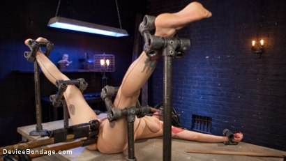 Photo number 2 from S'il Te Plait, Papa shot for Device Bondage on Kink.com. Featuring Arabelle Raphael and The Pope in hardcore BDSM & Fetish porn.