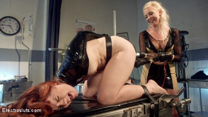 Photo number 10 from Please Shock My Cunt!: A Lesbian Electrosex Nightmare shot for Electro Sluts on Kink.com. Featuring Lorelei Lee and Barbary Rose in hardcore BDSM & Fetish porn.