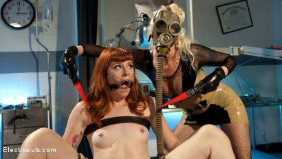 Photo number 19 from Please Shock My Cunt!: A Lesbian Electrosex Nightmare shot for Electro Sluts on Kink.com. Featuring Lorelei Lee and Barbary Rose in hardcore BDSM & Fetish porn.
