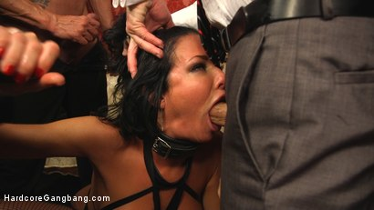 Photo number 11 from Kitten In A Cage: Veronica Avluv FUCKED WIDE OPEN! shot for Hardcore Gangbang on Kink.com. Featuring Veronica Avluv, Tommy Pistol, John Johnson, Marco Banderas, John Strong and Michael Vegas in hardcore BDSM & Fetish porn.