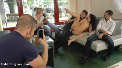Photo number 12 from Juliette March Needs to Exposes her Cunt to Everyone shot for Public Disgrace on Kink.com. Featuring Juliette March, Steve Holmes and Anna Quist in hardcore BDSM & Fetish porn.