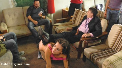 Photo number 13 from Juliette March is FUCKED IN PUBLIC shot for Public Disgrace on Kink.com. Featuring Steve Holmes and Juliette March in hardcore BDSM & Fetish porn.
