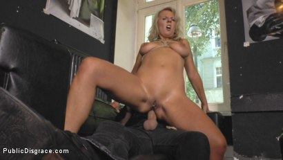 Photo number 10 from Horny Blonde Anal Slut Disgraced for Berlin Tourists shot for Public Disgrace on Kink.com. Featuring Mona Wales, Conny Dachs and Luci Angel in hardcore BDSM & Fetish porn.