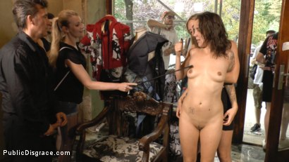 Photo number 12 from Porno Virginty taken with a Public Double Penetration shot for Public Disgrace on Kink.com. Featuring Mona Wales, Conny Dachs and Coco Chanal in hardcore BDSM & Fetish porn.