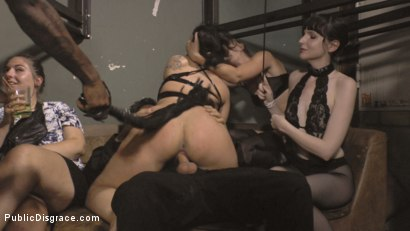 Photo number 8 from Filthy Bitch of Berlin Humiliated at Underground Sex Club shot for Public Disgrace on Kink.com. Featuring Mona Wales, Steve Holmes, Conny Dachs and Pina De Luxe in hardcore BDSM & Fetish porn.