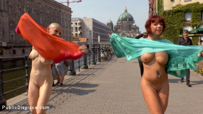 Photo number 6 from Two Berlin Freaks Get an Intense Public Shaming and Fucking shot for Public Disgrace on Kink.com. Featuring Mona Wales, Conny Dachs, Steve Holmes, Mad Kate and Jolyne Joy in hardcore BDSM & Fetish porn.