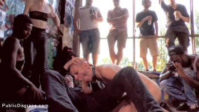 Photo number 15 from Two Berlin Freaks Get an Intense Public Shaming and Fucking shot for Public Disgrace on Kink.com. Featuring Mona Wales, Conny Dachs, Steve Holmes, Mad Kate and Jolyne Joy in hardcore BDSM & Fetish porn.