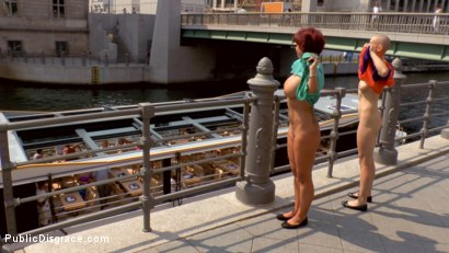 Photo number 4 from Two Berlin Freaks Get an Intense Public Shaming and Fucking shot for Public Disgrace on Kink.com. Featuring Mona Wales, Conny Dachs, Steve Holmes, Mad Kate and Jolyne Joy in hardcore BDSM & Fetish porn.