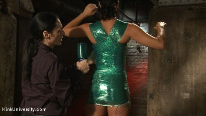 Photo number 37 from Plastic Wrap Suspension shot for Kink University on Kink.com. Featuring London River and Simon Blaise in hardcore BDSM & Fetish porn.