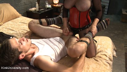Photo number 13 from Pegging 101 - Strap-on Play with Men shot for Kink University on Kink.com. Featuring Aiden Starr and Tony Orlando in hardcore BDSM & Fetish porn.