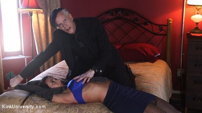 Photo number 4 from Rough Sex: Pillowcase Tricks shot for Kink University on Kink.com. Featuring Danarama and Virginia Tunnels in hardcore BDSM & Fetish porn.
