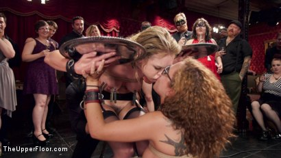 Photo number 19 from The Innocent Doll & Anal Slut Slave  shot for The Upper Floor on Kink.com. Featuring Roxanne Rae, John Strong and Keira Nicole in hardcore BDSM & Fetish porn.