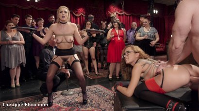 Photo number 3 from The Innocent Doll & Anal Slut Slave  shot for The Upper Floor on Kink.com. Featuring Roxanne Rae, John Strong and Keira Nicole in hardcore BDSM & Fetish porn.