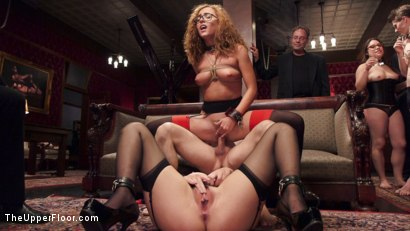 Photo number 9 from The Innocent Doll & Anal Slut Slave  shot for The Upper Floor on Kink.com. Featuring Roxanne Rae, John Strong and Keira Nicole in hardcore BDSM & Fetish porn.