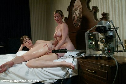 Photo number 8 from Dana DeArmond and Lindsey Grant shot for Fucking Machines on Kink.com. Featuring Dana DeArmond and Lindsey Grant in hardcore BDSM & Fetish porn.