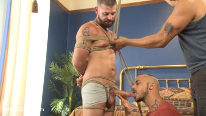 Photo number 3 from Texan stud receives his first edging in bondage shot for Men On Edge on Kink.com. Featuring Tex Davidson in hardcore BDSM & Fetish porn.