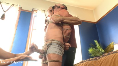 Photo number 6 from Texan stud receives his first edging in bondage shot for Men On Edge on Kink.com. Featuring Tex Davidson in hardcore BDSM & Fetish porn.
