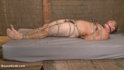 Photo number 10 from Guy next door held in a stock, facefucked and flogged shot for Bound Gods on Kink.com. Featuring Kip Johnson and Christian Wilde in hardcore BDSM & Fetish porn.