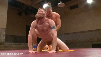 Photo number 11 from Kip Johnson vs Cass Bolton shot for Naked Kombat on Kink.com. Featuring Cass Bolton and Kip Johnson in hardcore BDSM & Fetish porn.