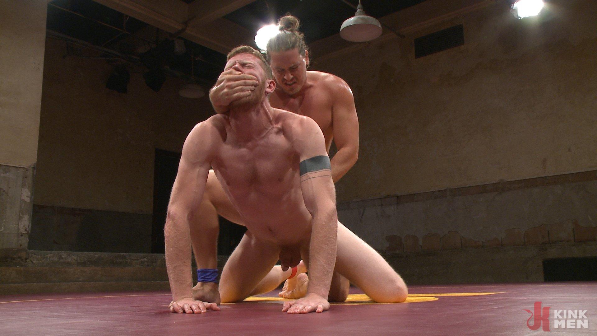 Photo number 11 from Kip Johnson vs Cass Bolton shot for Naked Kombat on Kink.com. Featuring Cass Bolton and Kip Johnson in hardcore BDSM & Fetish porn.
