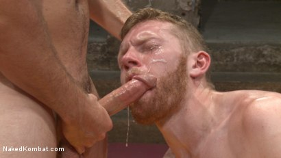 Photo number 14 from Kip Johnson vs Cass Bolton shot for Naked Kombat on Kink.com. Featuring Cass Bolton and Kip Johnson in hardcore BDSM & Fetish porn.