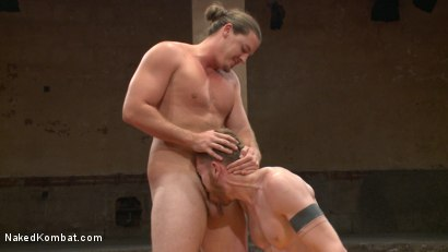 Photo number 8 from Kip Johnson vs Cass Bolton shot for Naked Kombat on Kink.com. Featuring Cass Bolton and Kip Johnson in hardcore BDSM & Fetish porn.