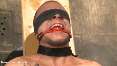 Photo number 11 from Eli Hunter vs. DJ - The Veteran Returns  shot for Naked Kombat on Kink.com. Featuring Eli Hunter and DJ in hardcore BDSM & Fetish porn.