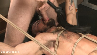 Photo number 11 from Ripped gym rat Aarin Asker takes a giant fist while in suspension shot for Bound Gods on Kink.com. Featuring Connor Maguire and Aarin Asker in hardcore BDSM & Fetish porn.