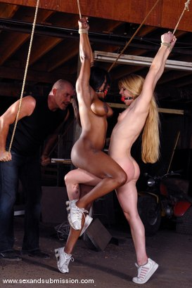 Photo number 7 from El Rancho shot for Sex And Submission on Kink.com. Featuring Mark Davis, Jada Fire and Tawni Ryden in hardcore BDSM & Fetish porn.