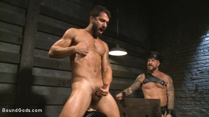 Photo number 14 from The Return of Rocco Steele shot for Bound Gods on Kink.com. Featuring Rocco Steele and Adam Ramzi in hardcore BDSM & Fetish porn.