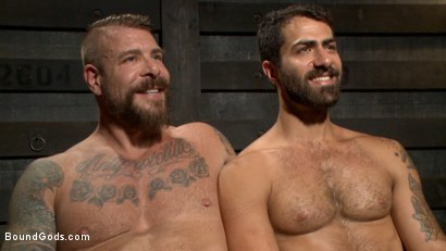 Photo number 15 from The Return of Rocco Steele shot for Bound Gods on Kink.com. Featuring Rocco Steele and Adam Ramzi in hardcore BDSM & Fetish porn.