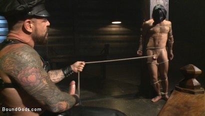 Photo number 9 from The Return of Rocco Steele shot for Bound Gods on Kink.com. Featuring Rocco Steele and Adam Ramzi in hardcore BDSM & Fetish porn.