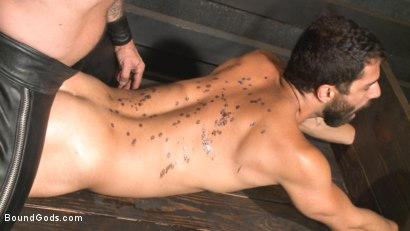 Photo number 11 from The Return of Rocco Steele shot for Bound Gods on Kink.com. Featuring Rocco Steele and Adam Ramzi in hardcore BDSM & Fetish porn.