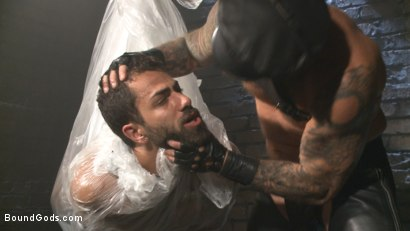 Photo number 2 from The Return of Rocco Steele shot for Bound Gods on Kink.com. Featuring Rocco Steele and Adam Ramzi in hardcore BDSM & Fetish porn.