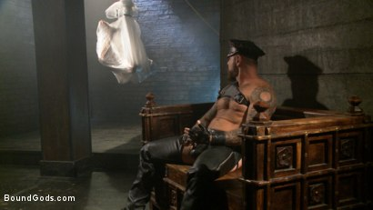 Photo number 1 from The Return of Rocco Steele shot for Bound Gods on Kink.com. Featuring Rocco Steele and Adam Ramzi in hardcore BDSM & Fetish porn.