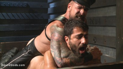 Photo number 13 from The Return of Rocco Steele shot for Bound Gods on Kink.com. Featuring Rocco Steele and Adam Ramzi in hardcore BDSM & Fetish porn.