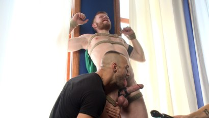 Photo number 3 from Cass Bolton - Muscled stud with huge balls gets the edging of his life shot for Men On Edge on Kink.com. Featuring Cass Bolton in hardcore BDSM & Fetish porn.