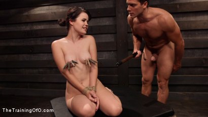 Photo number 13 from Slave Training: Tied Tight and Pounded Hard in the Ass shot for The Training Of O on Kink.com. Featuring Ramon Nomar and Yhivi in hardcore BDSM & Fetish porn.