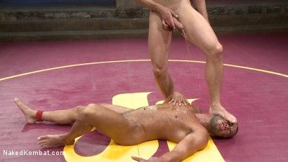Photo number 14 from Jessie Colter vs Micah Brandt - Loser gets FUCKED! shot for Naked Kombat on Kink.com. Featuring Micah Brandt and Jessie Colter in hardcore BDSM & Fetish porn.