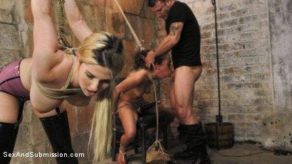 Photo number 8 from Graphic Anal Bondage shot for Sex And Submission on Kink.com. Featuring Ziggy Star, Mr. Pete and Christie Stevens in hardcore BDSM & Fetish porn.