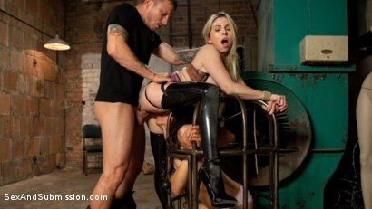 Photo number 3 from Graphic Anal Bondage shot for Sex And Submission on Kink.com. Featuring Ziggy Star, Mr. Pete and Christie Stevens in hardcore BDSM & Fetish porn.