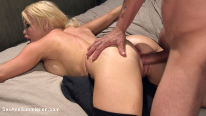 Photo number 11 from Nikki's Anal Surrender shot for Sex And Submission on Kink.com. Featuring Nikki Delano and Mr. Pete in hardcore BDSM & Fetish porn.