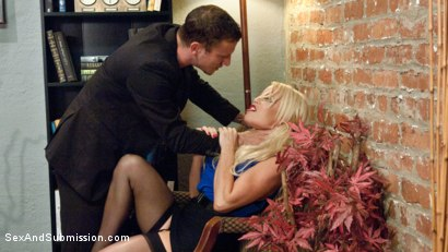 Photo number 1 from Nikki's Anal Surrender shot for Sex And Submission on Kink.com. Featuring Nikki Delano and Mr. Pete in hardcore BDSM & Fetish porn.