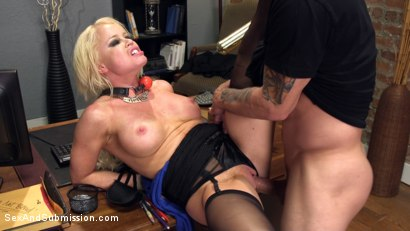 Photo number 13 from Nikki's Anal Surrender shot for Sex And Submission on Kink.com. Featuring Nikki Delano and Mr. Pete in hardcore BDSM & Fetish porn.