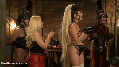 Photo number 11 from Pony Play for the New Pony or New Trainer shot for Kink University on Kink.com. Featuring Kay Kardia, SubMiss Ann, Olivia Fawn and Speckles in hardcore BDSM & Fetish porn.