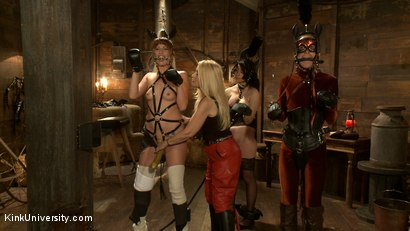 Photo number 14 from Pony Play for the New Pony or New Trainer shot for Kink University on Kink.com. Featuring Kay Kardia, SubMiss Ann, Olivia Fawn and Speckles in hardcore BDSM & Fetish porn.